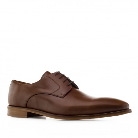 Dress Shoes in Brown Leather
